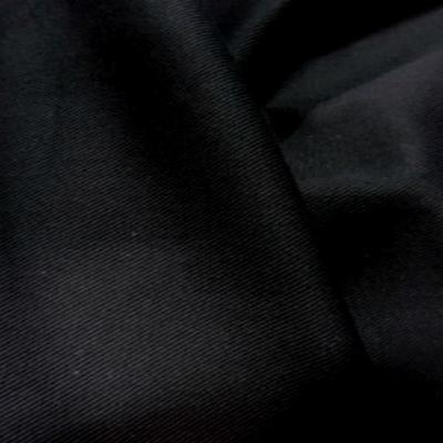 Belle gabardine coton noire