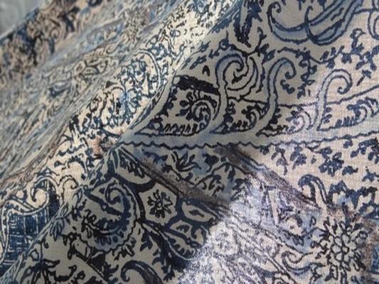 Coton cachemire bleu 01 4