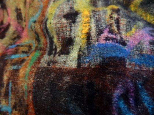 Coton velours imprimé graff 02