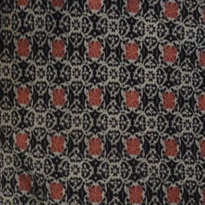 Coton viscose petits motifs géométrie 01