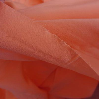 Crêpe de soie capucine orange 02