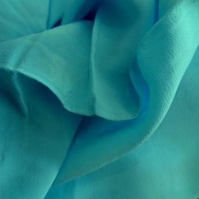 Crêpe de soie turquoise 01