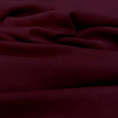 Jersey coton marcel bordeaux 1