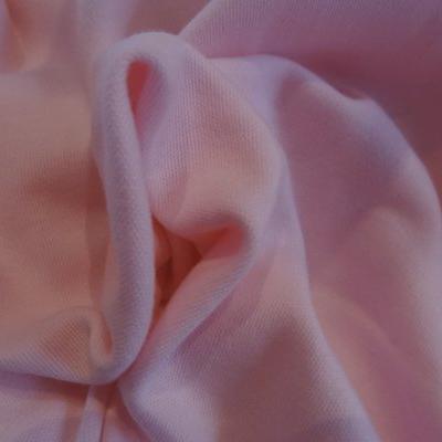 Jersey coton rose dragée 01