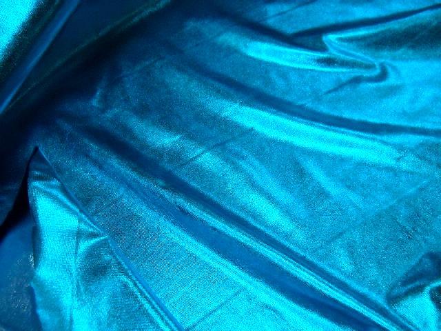 Jersey fin lame bleu celeste 2