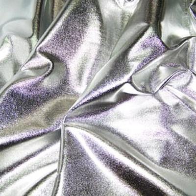 Jersey fin lame couleur argent 1