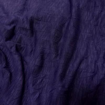 Jersey violet prune froissage papier 3
