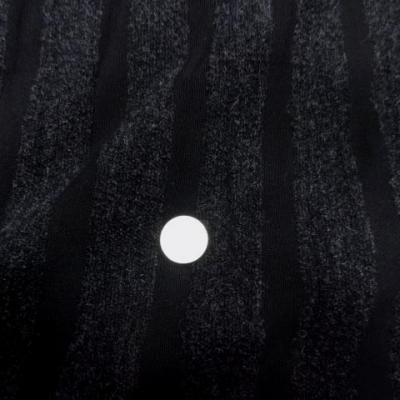 Lainage gris chine raye noir 3