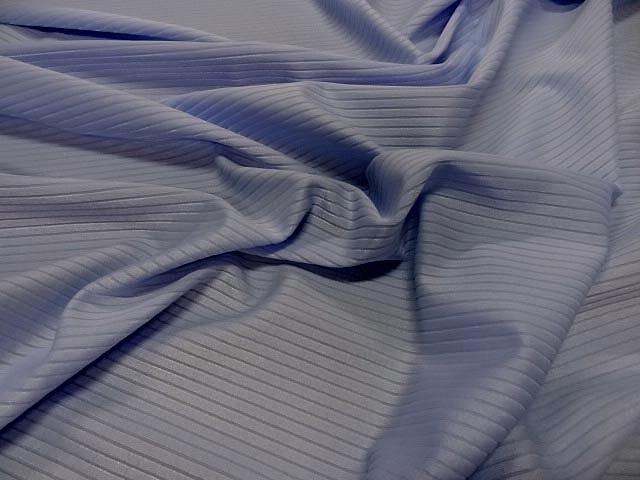Lycra a cotes bleuet clair 1