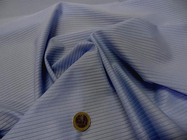 Lycra a cotes bleuet clair 3