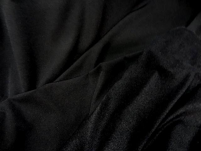 Lycra noir double polaire 1