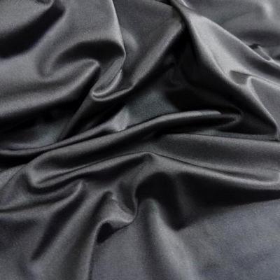Lycra satiné gris moyen
