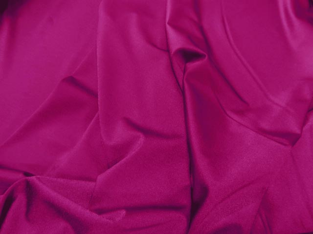 Lycra satine rose fuchsia