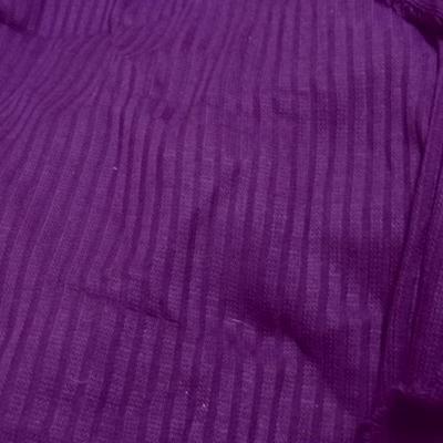 Maille acrylique aubergine 1