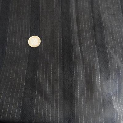 Polyester chemise noir et lurex 01