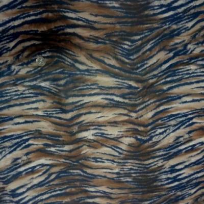 Satin lycra imprime tigre 0 3
