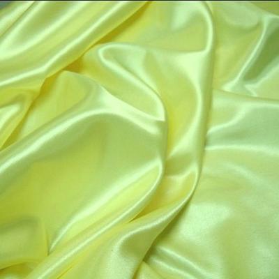 Satin viscose jaune souffre 1
