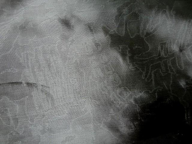 Soie gris plomb faconnee effet marbre 1
