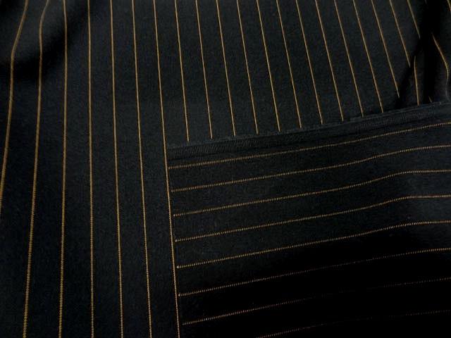 Stretch noir rayures tennis cuivrees 1