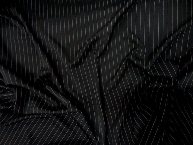 Stretch noir rayures tennis cuivrees 2