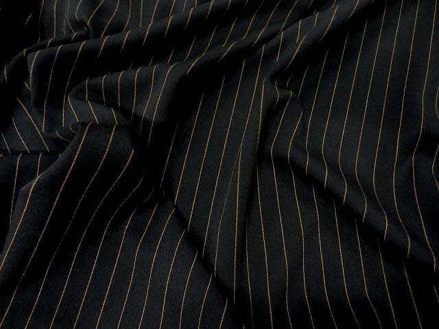 Stretch noir rayures tennis cuivrees 3