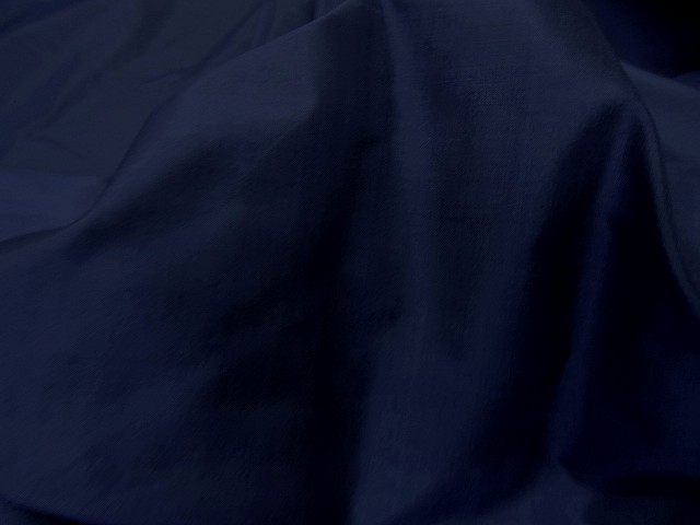 Taffetas de soie bleu nuit 1