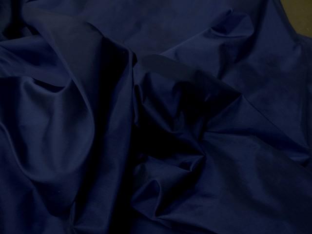 Taffetas de soie bleu nuit 2