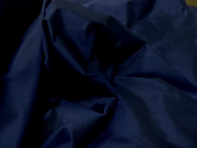 Taffetas de soie bleu nuit 4