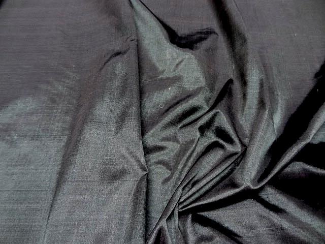Taffetas de soie gris moyen 2