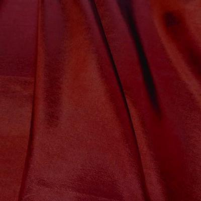 Taffetas rouge souple reflets 1