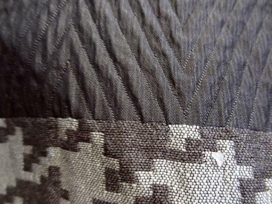Tissu bandes pied de poule géant 03