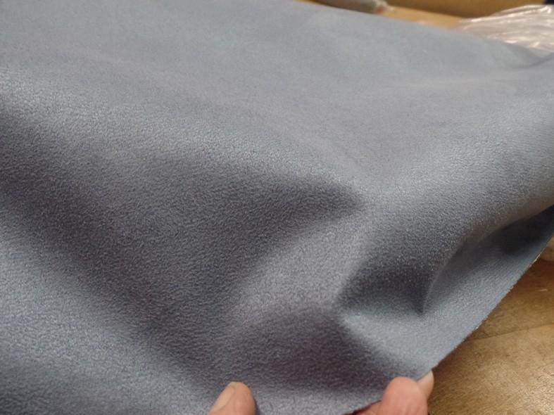 Alcantara ameublement teinte gris acier 1