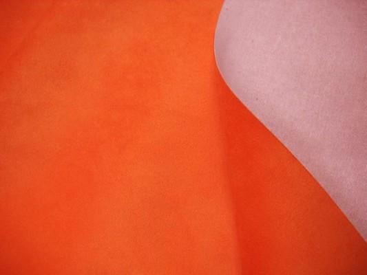 Alcantara orange 3