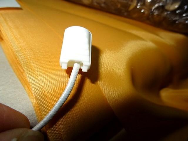 Arret plastique blanc pour cordon survetement 1