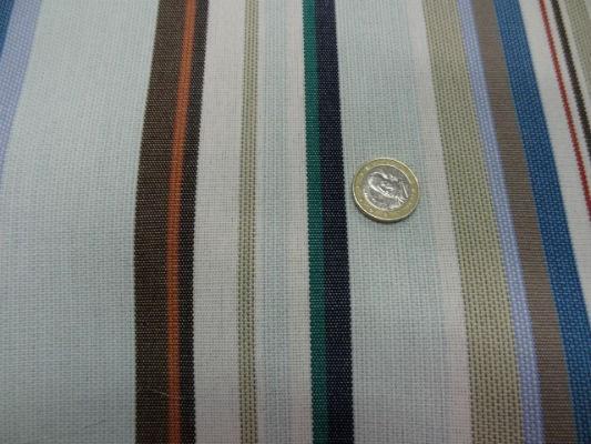 bâche fines raies azur-ciel-marron-vert 1