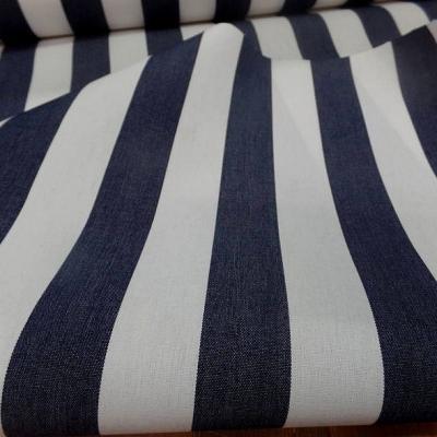 Bache grosses rayures blanc bleu stone 3