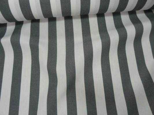 Bâche rayures moyennes blanc-gris 0