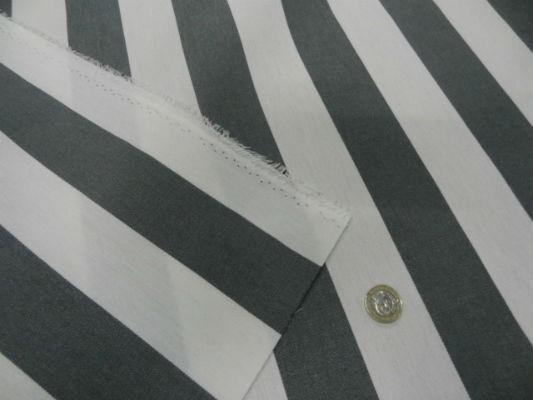 Bâche rayures moyennes blanc-gris 3
