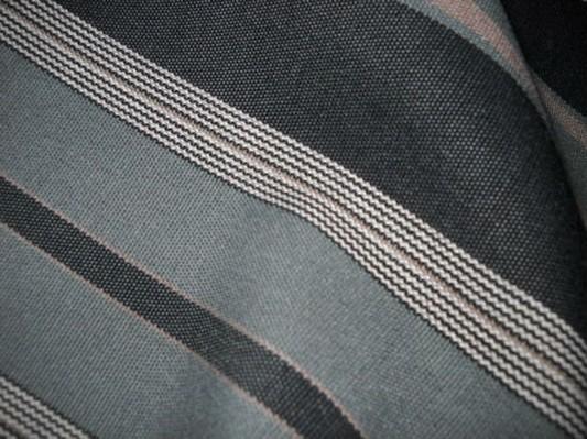 Bache teflon rayee gris noir en 1 60 m de large 4 1