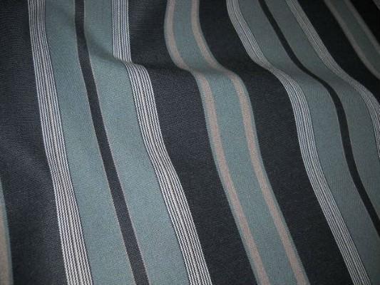 Bache teflon rayee gris noir en 1 60 m de large 4 3