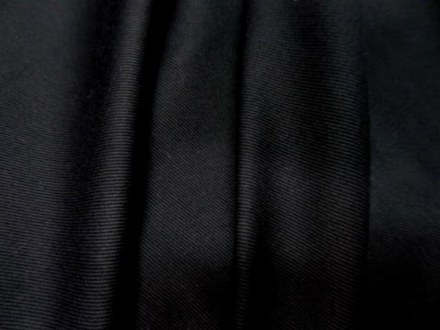 Belle gabardine coton noire3