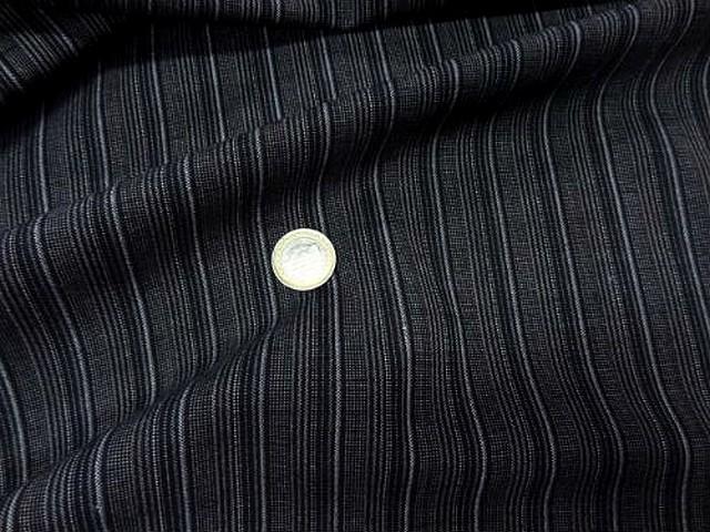 Bi stretch noir fines rayures grises 2