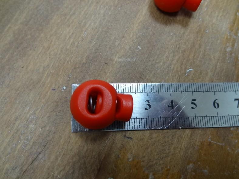 Bloque cordon boule rouge