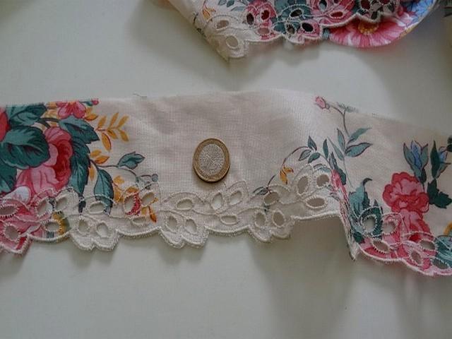 Bordure coton bucolique broderie anglaise 2