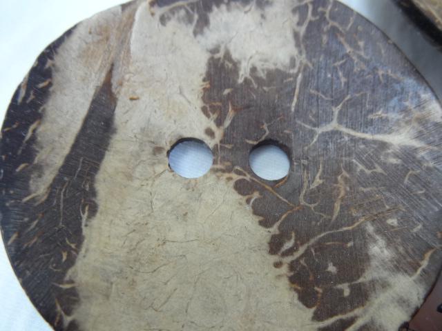 Bouton noix de coco geant
