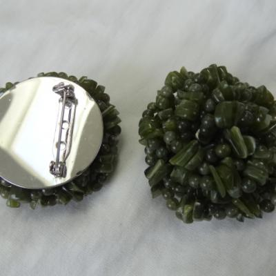 Broche en serpentine 1