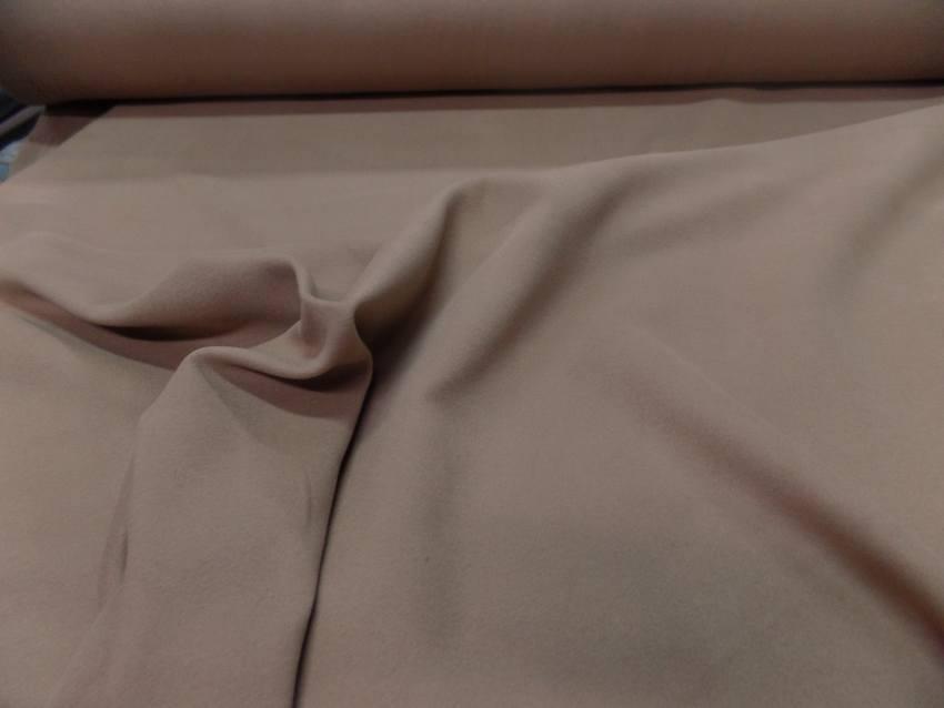 Caban imitation drap de laine beige
