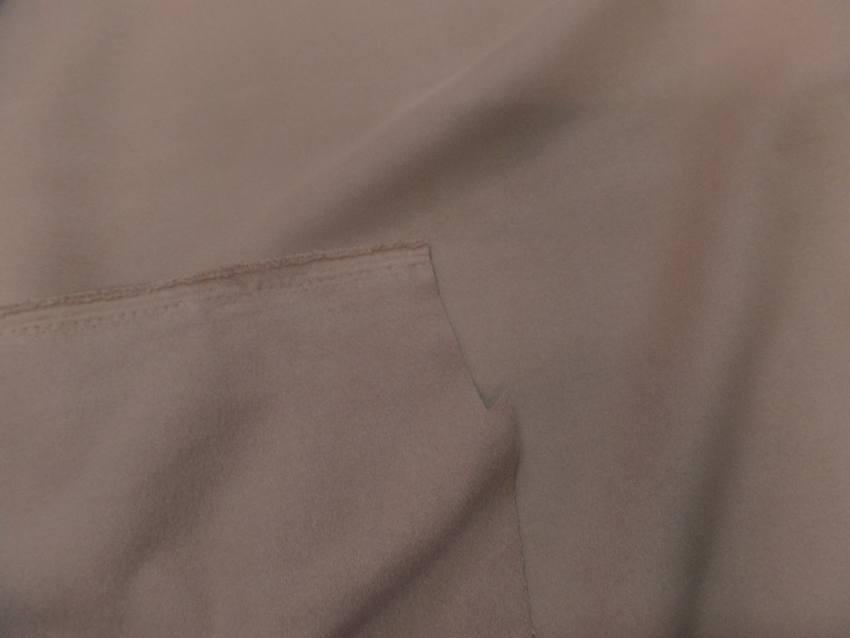 Caban imitation drap de laine beige0