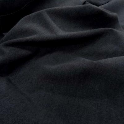 Caban imitation drap de laine gris fonce 1