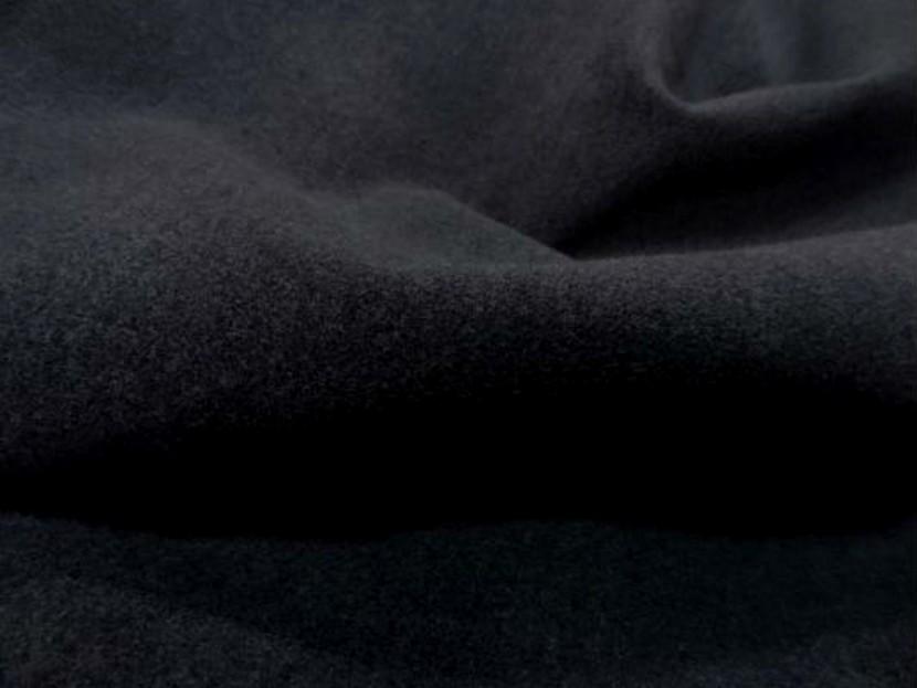 Caban imitation drap de laine gris fonce 3